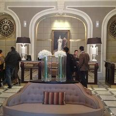 Photo taken at Hotel María Cristina by stephanie l. on 12/17/2012