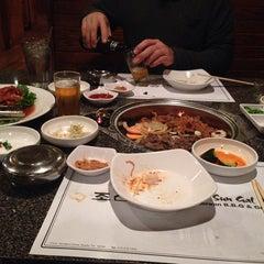 Photo taken at Cho Sun Gal Bi Korean BBQ & Sushi Bar by Emily I. on 3/25/2014