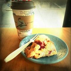 Photo taken at Caribou Coffee by Douglas B. on 1/22/2013