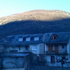 Photo taken at Thermes de Luchon by Christophe A. on 12/22/2013