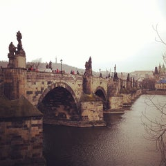 Photo taken at Karlův most   Charles Bridge by BAD DUCK C. on 4/12/2013