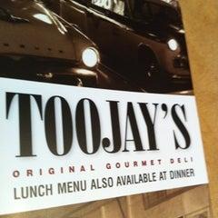 Photo taken at TooJay's Gourmet Deli by Portia W. on 10/4/2012