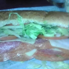 Photo taken at Goodcents Deli Fresh Subs by Jim B. on 9/27/2012