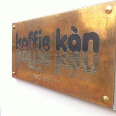 Photo taken at Koffie Kàn by Ben V. on 6/17/2014