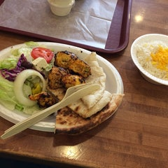 Photo taken at Moby Dick House of Kabob by Angela K. on 4/26/2014