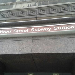 Photo taken at Port Authority Wood Street Station by Shadow C. on 5/3/2016