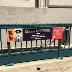 Photo taken at New York Transit Museum by Beau M. on 4/7/2013