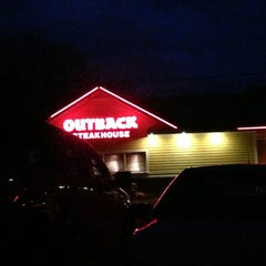 Photo taken at Outback Steakhouse by Neil F. on 1/1/2013