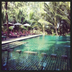 Photo taken at Haadson Resort Phang Nga by Kim P. on 3/31/2013