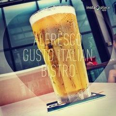 Photo taken at Alfresco Gusto Italian Bistro by TS S. on 4/24/2013