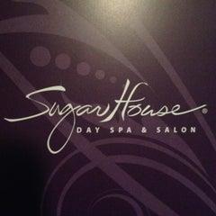 Photo taken at Sugarhouse Day Spa & Salon by Kristen N. on 4/11/2013