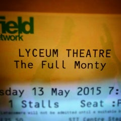 Photo taken at Lyceum Theatre by Tony K. on 5/13/2015