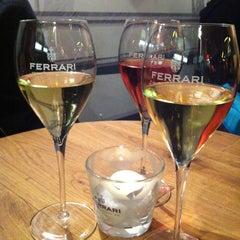 Photo taken at Ferrari Lounge by Clizia G. on 1/20/2013