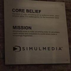 Photo taken at Simulmedia, Inc. by Caty B. on 5/11/2015