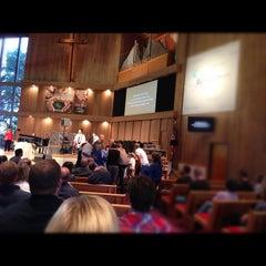 Photo taken at Peninsula Covenant Church by Pamela C. on 10/28/2012