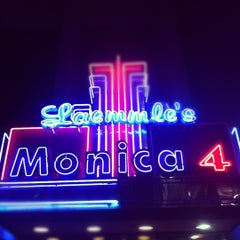 Photo taken at Laemmle's Monica Fourplex by Josh D. on 11/16/2012