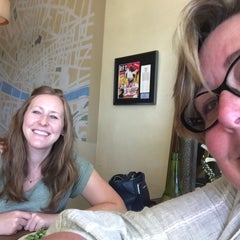 Photo taken at Katie's Pizzeria Cafe by Ally B. on 7/30/2015