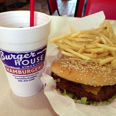 Photo taken at Burger House by Anton S. on 3/2/2013
