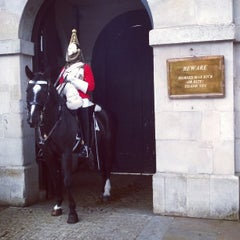 Photo taken at London 2012 Horse Guards Parade by Roeland M. on 5/10/2014