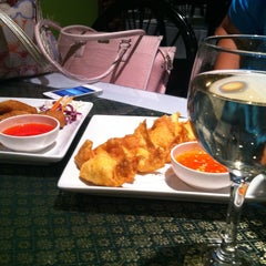 Photo taken at Thai Basil by Monique D. on 4/26/2013