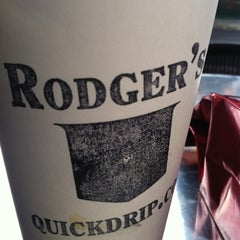 Photo taken at Rodger's Coffee & Tea by V M. on 1/22/2013