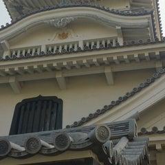 Photo taken at 長浜城 (長浜城歴史博物館) by Cono on 8/31/2014
