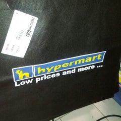 Photo taken at hypermart by Yogart M. on 2/6/2013