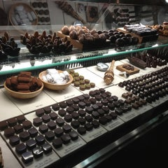 Photo taken at SOMA chocolatemaker by Sammy O. on 11/17/2012