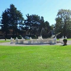 Photo taken at Villa Visconti Borromeo Litta by Alberto B. on 10/11/2013