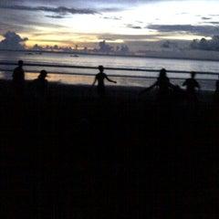 Photo taken at Pantai Barat Pangandaran by Eka S. on 6/10/2013