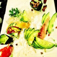 Photo taken at Sushi Hana Japanese Kitchen by CRATEinteriors on 2/5/2013
