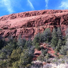Photo taken at Sedona Red Rocks by Jenelle S. on 1/9/2013