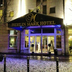 Photo taken at Berlin Mark Hotel by Nick B. on 3/9/2013
