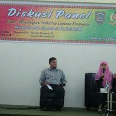 Photo taken at Universitas Islam Riau (UIR) by ummi b. on 10/24/2013