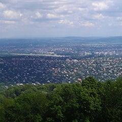 Photo taken at Normafa by Zoltán T. on 5/20/2013