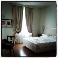 Photo taken at Hotel Italia Siena by Romain J. on 10/12/2013