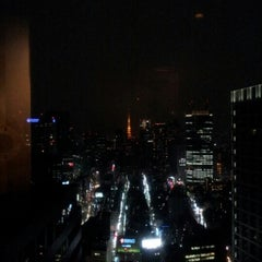 Photo taken at The Bar Hotel NewOhtani by Hideo T. on 12/2/2012