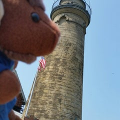 Photo taken at Fairport Harbor Marine Museum and Lighthouse by Nancy S. on 8/7/2014