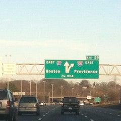 Photo taken at I-84 -- Hartford by Brett M. R. on 12/15/2012