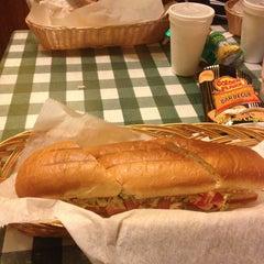 Photo taken at Super Submarine Sandwich Shop by Leslie P. on 5/6/2013