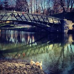 Photo taken at Washington Park by Jacky M. on 4/17/2013