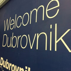 Photo taken at Dubrovnik Airport (DBV) by Sounun T. on 4/17/2015