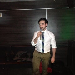 Photo taken at XO Karaoke Bar by Wendy F. on 4/11/2013