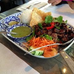 Photo taken at President Thai Restaurant by Rick L. on 3/16/2013