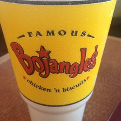 Photo taken at Bojangles' Famous Chicken 'n Biscuits by Judson J. on 1/18/2013