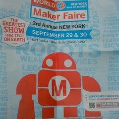 Photo taken at World Maker Faire by Tarron D G. on 9/29/2012