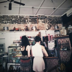 Photo taken at Lady Marmalade Café by Rae A. on 2/11/2013