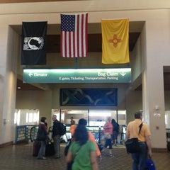 Photo taken at Albuquerque International Sunport (ABQ) by Citlalic J. on 6/6/2013