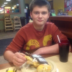 Photo taken at Cicis by Melanie M. on 2/23/2013