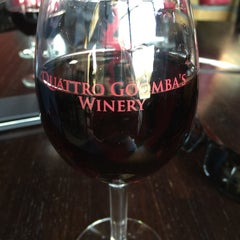 Photo taken at Quattro Goomba's Winery by Charlie R. on 10/31/2015